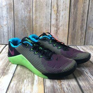 New Nike Metcon 5 Sz 13 Green/black weightlifting